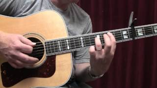 Oceans by Coldplay Guitar Lesson