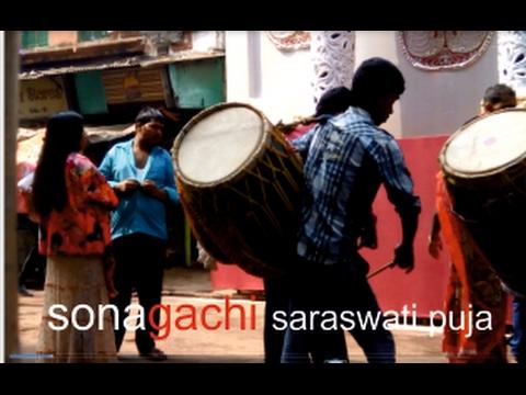 Sonagachi red light area & Saraswati puja.