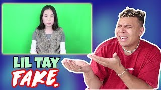 MY RESPONSE TO LIL TAY BEING FAKE (the truth)