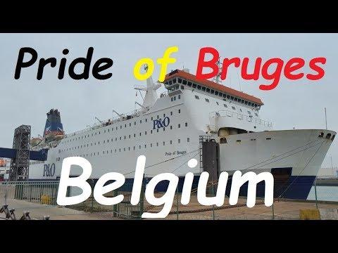 Zeebrugge to Hull ferry trip on Pride of Bruges