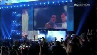 The Rock vs Brock Lesnar Wrestlemania 29 fan made promo.mov