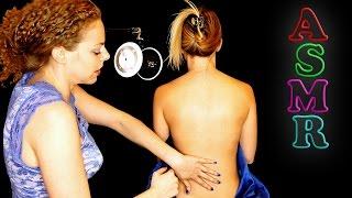 ♥ Beautiful ASMR Back Tickle Massage with Becca, Back Tickling & Whisper