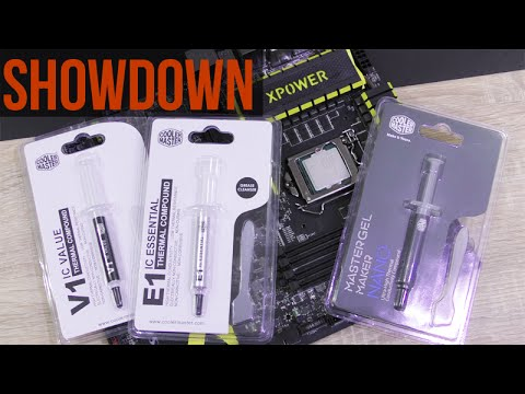 Do we need Thermal Paste?   Thermal Paste Showdown