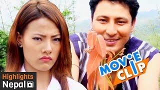 Love Propose | New Nepali Movie KHURPA Scene | Sabin Shrestha, Sushma Adhikari