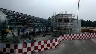 New terminal building work under progress Trivandrum International Airport