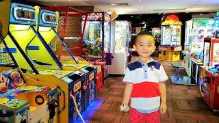 Kids Playtime Fun Arcade Games City  Amusements Skill Tester Machine Racing Shooting Fun Ckn Toys