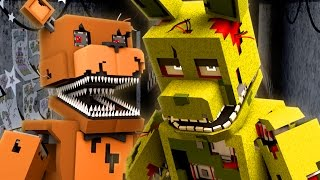 SPRINGTRAP IS MY FRIEND?! - Five Nights at Freddy's Nightmare (Minecraft Roleplay)