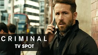 "Criminal (2016 Movie) Official TV Spot – ""Feel"""