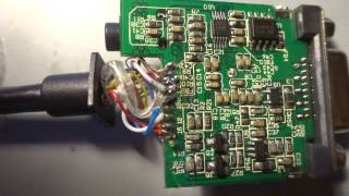 Make an active HDMI to VGA converter(add 5v) (useful for PS4)