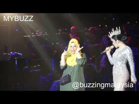Dato Vida & Princess Syahrini Lawak Habis di Konsert Nova 2017