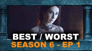 Game of Thrones Season 6 Episode 1 REVIEW aka REACTION - The Red Woman