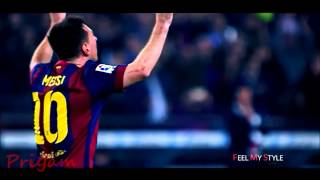 Linel Messi and Cristiano Ronaldo football skills in hindi song