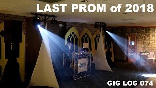 DJ GIG LOG 074 | Buckeye Trails PROM | Small Setup Fun kids