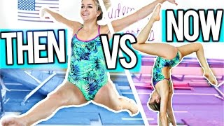Gymnastics Then VS Now