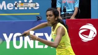 Yonex Sunrise India Open 2017 | Badminton F M5-WS | Carolina Marin vs Pusarla V. Sindhu