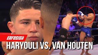 Nabil Haryouli (Morocco) vs Joey van Houten (The Netherlands)   Enfusion Kickboxing Talents