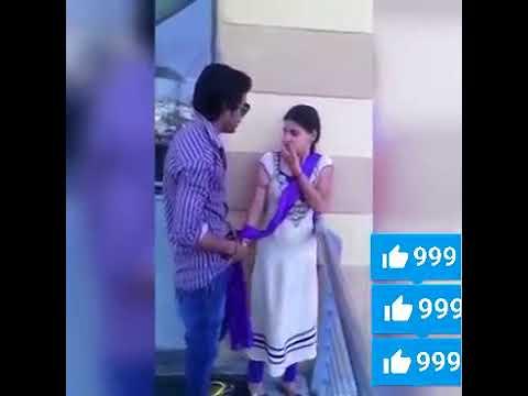 Pakistani Boy forced Girl for kiss in Public