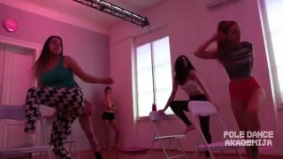 POLE DANCE Akademija - Chair dance workshop with Nevena Ilena