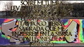 La Cruz De Marihuana - Los Tigres Del Norte   {Letra}