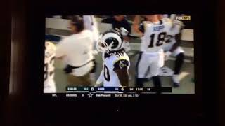 AMAZING Start By The Rams Offense On The Opening Drive Todd Gurley 12 Touchdown Of The Season!!
