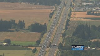 Post-eclipse: Oregon traffic jam for the ages