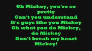 Hey Mickey! with lyrics