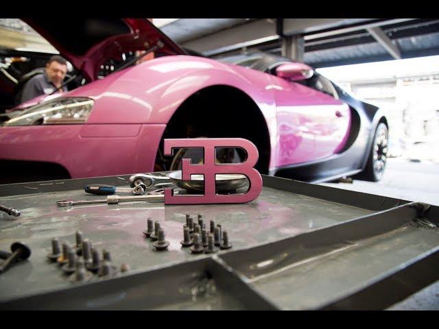 #RDBLA PINK Bugatti Transformation In 42 Hours!