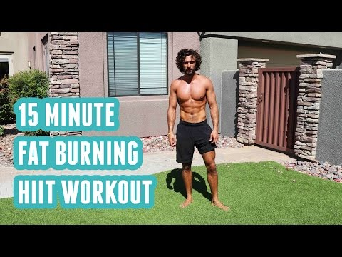 15 Minute Fat Burning HIIT Workout | No Equipment | The Body Coach