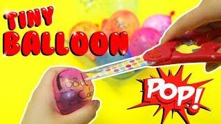 TINY BALLOON SLIME TUTORIAL | POP IT CHALLENGE | Slimeatory #170