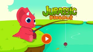 Jurassic Dinosaur - Dinosaur games for kids  Education Video for Children, Toddlers and Preschoolers
