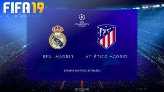 FIFA 19 Demo - Real Madrid vs. Atlético Madrid (UEFA Champions League)