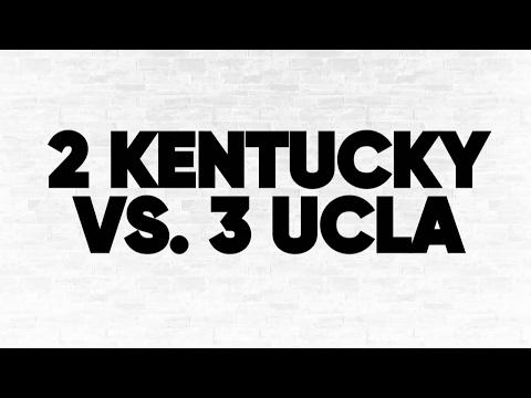 2 Kentucky vs. 3 UCLA
