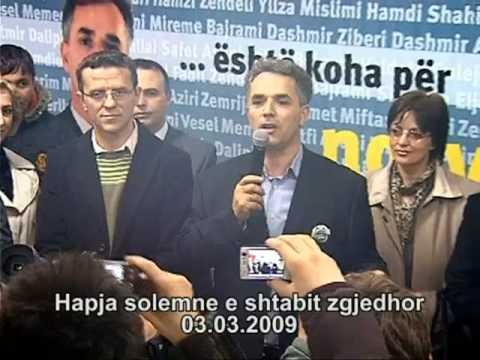 Hapja solemne e shtabit qendror në Gostivar.