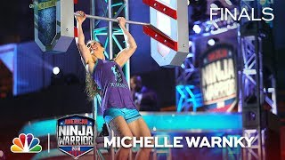 Michelle Warnky at the Philadelphia City Finals - American Ninja Warrior 2018
