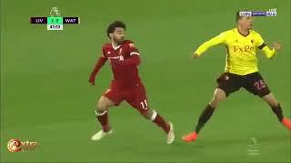 ملخص مباراة ليفربول وواتفورد وسوبر هاتريك صلاح مو صلااااح