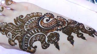How to Design Egyptian Wedding Henna Mehedi 2016:Creative Mehendi