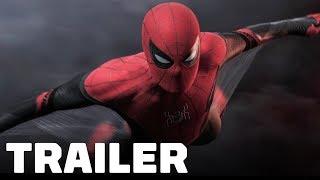 Spider-Man: Far From Home Official Trailer (2019) Tom Holland, Jake Gyllenhaal, Samuel L Jackson