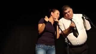 مسرح النقاب ومقطع من مسرحية طرة  ونقشة من تمثيل منعم منصور و أميمة سرحان