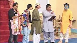 Nasir chinyoti and Amanat Chan New Pakistani Stage Drama Full Comedy Clip