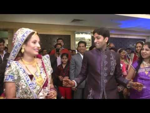 Indian Wedding lovely Couple -- Pawan & Jaya Reception Dance
