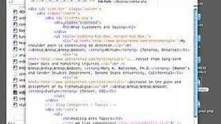 WordPress Tutorial - Edit a Sidebar File Using a Text Editor