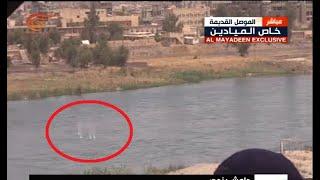 الميادين ترصد مباشرة محاولة هروب عناصر من داعش
