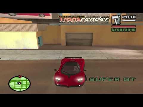 GTA San Andreas Car Mods HD