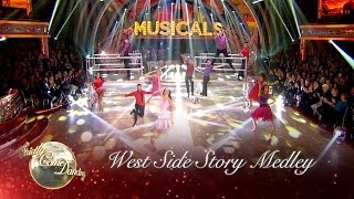 Group Dance: West Side Story Medley - Strictly Come Dancing 2016: Musicals Week
