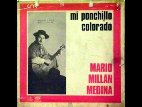 Mi ponchillo Colorado Mario Millan Medina