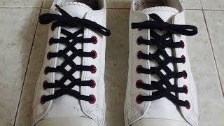 How to ZIPPER Lace your shoes