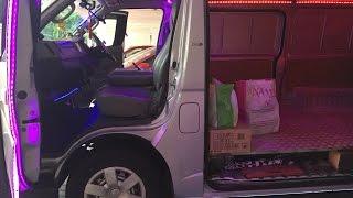 Toyota goods van pimped