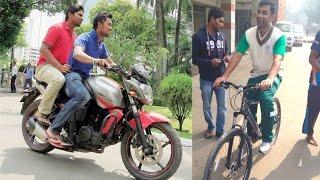সাইকেল-বাইক নিয়ে শ্রীলংকার অলিগলি ঘুরলেন তামিম-মুস্তাফিজরা | Tamim | Mustafiz | Bangla News Today