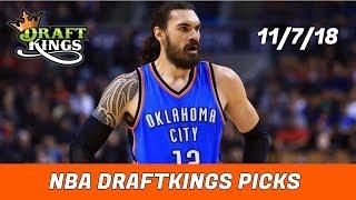 11/7/18 NBA DraftKings Picks - Money Six