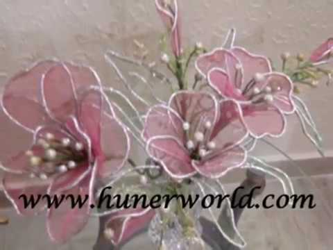 flower making net clay Dough flower dry arrangement tips
